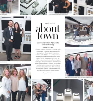 About Town – Solomon Brothers Alpahretta Grand Opening