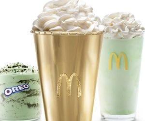 Mint Condition: McDonald's Made a K Golden Shamrock Shake