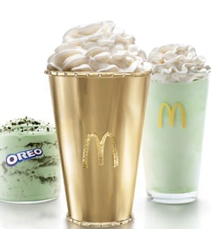 Mint Condition: McDonald's Made a K Golden Shamrock Shake