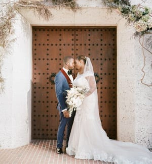 Modern-Chic Wedding with Rustic Touches and Copper Details