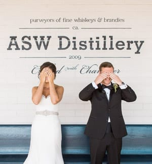 Romantic, Rustic-Chic Wedding at a Whiskey Distillery in Atlanta